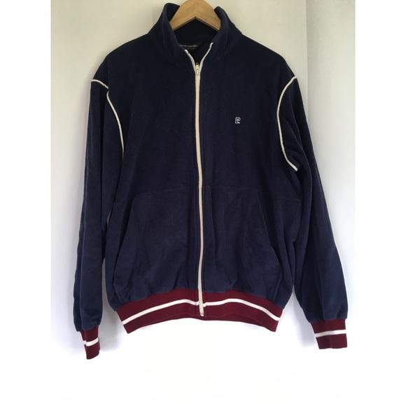 355c7acb06b24 Pierre Cardin Jackets & Coats | Vintage Zip Up Velour Jacket | Poshmark